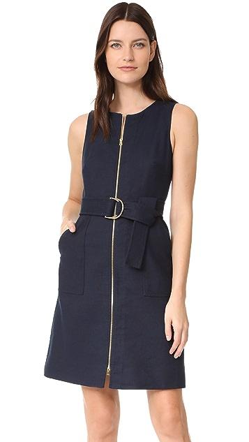 Diane von Furstenberg Sleeveless Zip Front Dress