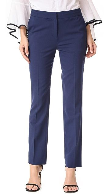 Diane von Furstenberg Cigarette Pants