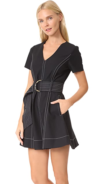 Diane von Furstenberg D Ring Flare Dress
