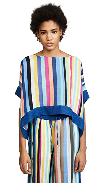 Diane von Furstenberg Linen Tee Shirt