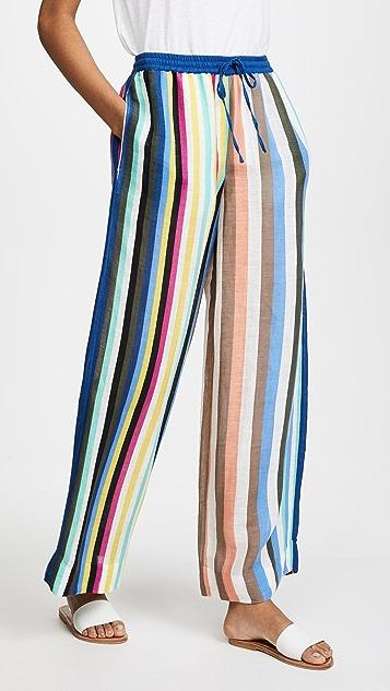 01a3c30935 Diane von Furstenberg Beach Linen Wide Leg Pants | SHOPBOP