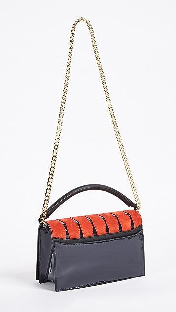 Diane von Furstenberg Soiree Top Handle Cross Body Bag