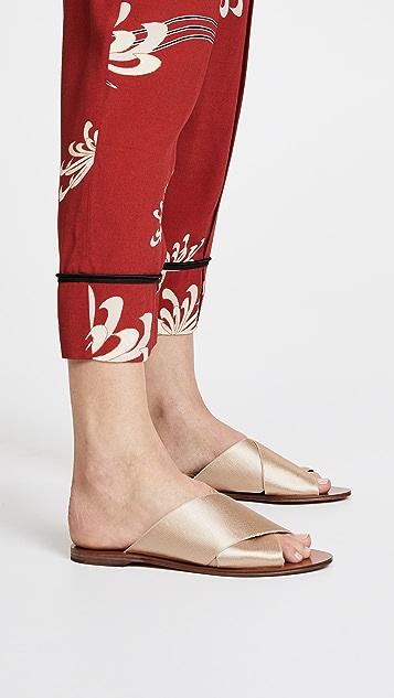 Diane von Furstenberg Bailie 2 Crisscross Slides
