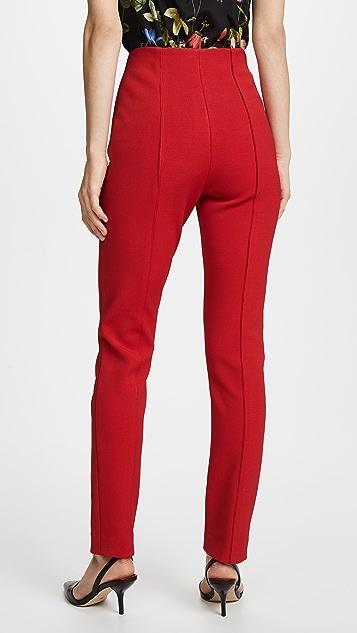 Diane von Furstenberg High Waisted Skinny Pants