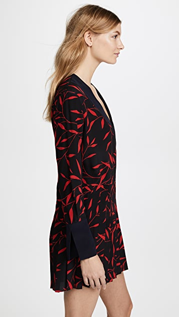 Diane von Furstenberg Crossover Dress