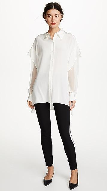 Diane von Furstenberg Button Shirt