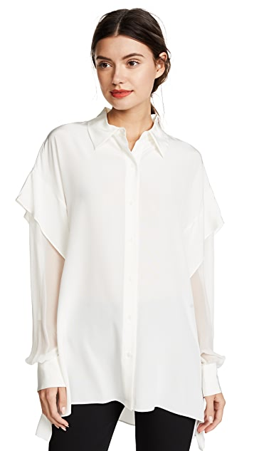 Diane von Furstenberg Button Shirt