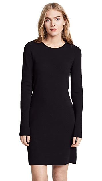 Diane von Furstenberg Crew Neck Knit Dress