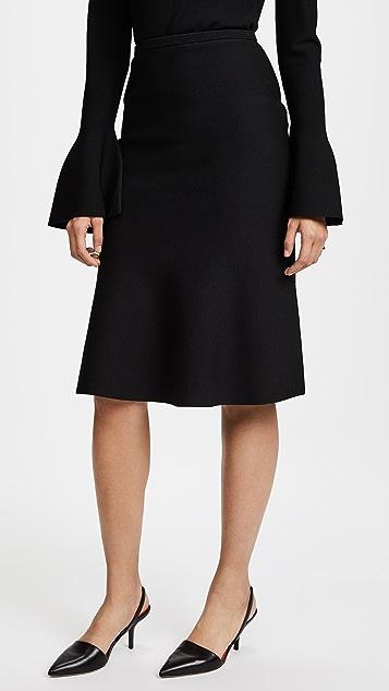 Diane von Furstenberg Flute Knit Skirt