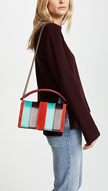 Diane von Furstenberg Soiree Top Handle Bag