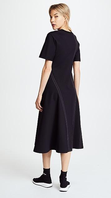 Diane von Furstenberg Short Sleeve T-Shirt Dress