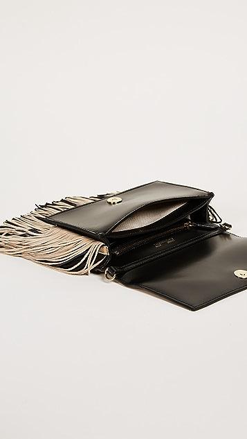 Diane von Furstenberg Soiree Fringe Cross Body Bag