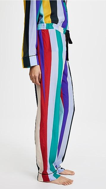 Diane von Furstenberg Wide Leg PJ Bottoms
