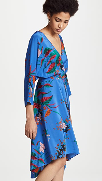 Diane von Furstenberg Asymmetrical Mini Dress