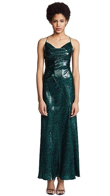 Diane von Furstenberg Cowl Bias Gown