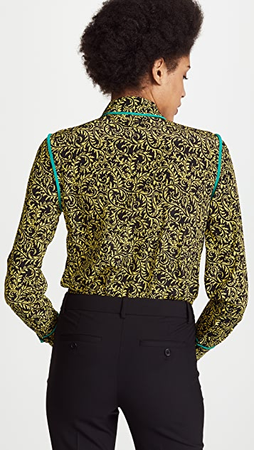 Diane von Furstenberg Collared Shirt