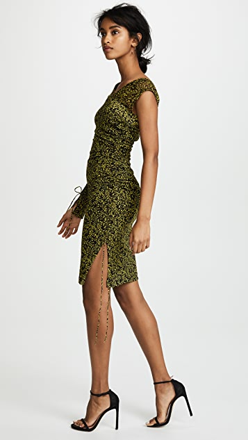 Diane von Furstenberg Ruched Dress