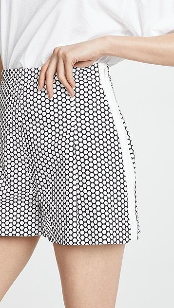 Diane von Furstenberg High Waist Shorts
