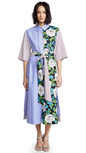 Diane von Furstenberg Belted Shirtdress