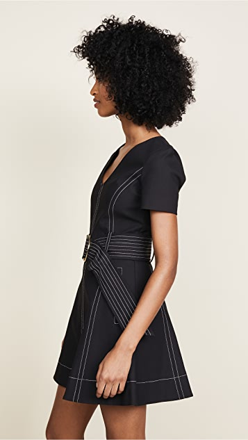 Diane von Furstenberg Fit and Flare Dress