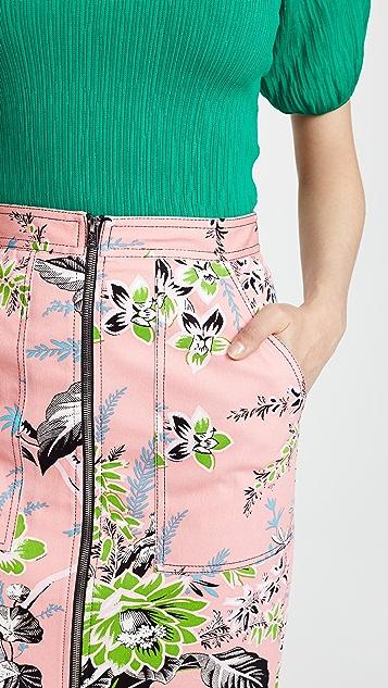 Diane von Furstenberg Zip Skirt