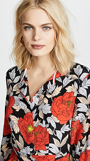 960bd7985bc ... Diane von Furstenberg Waist Tie Maxi Dress ...