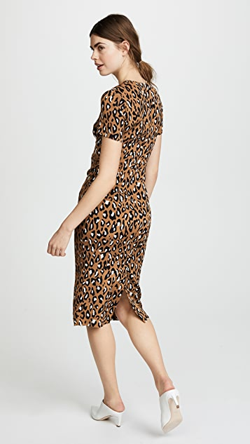Diane von Furstenberg Crew Neck Dress