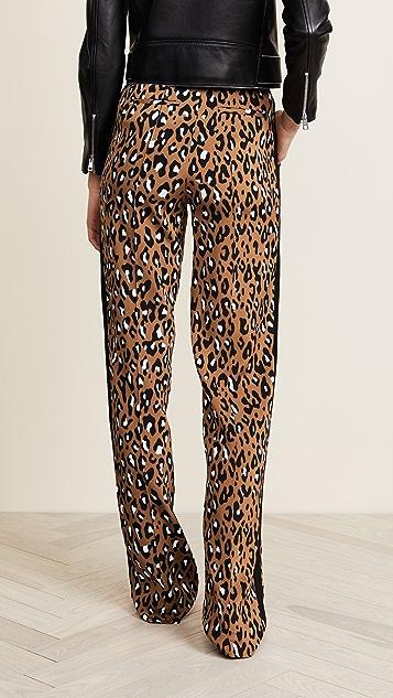 Diane von Furstenberg Straight Leg Pants