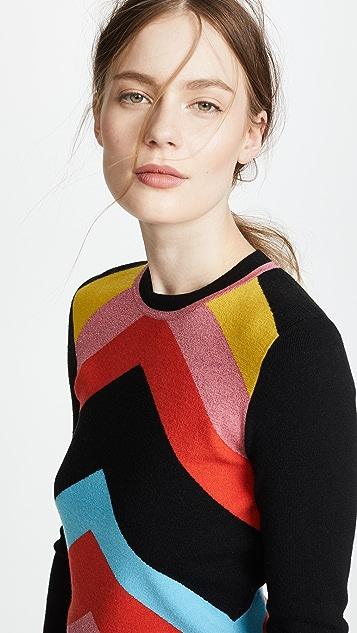 bbdc326814b4 ... Diane von Furstenberg Rainbow Sweater ...