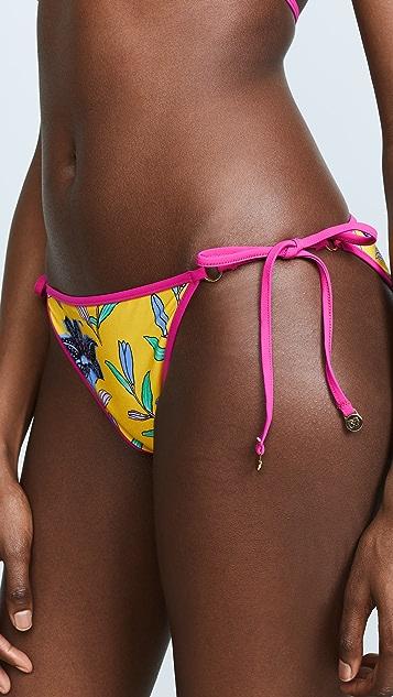 Diane von Furstenberg Ring String Bikini Bottoms