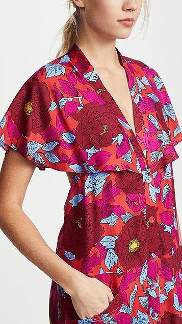 Diane von Furstenberg Boswell Geranium Dress