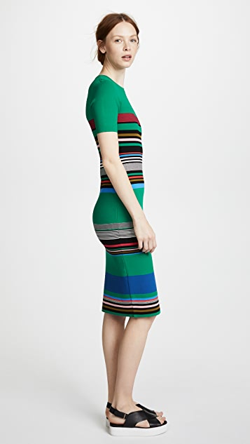 Diane von Furstenberg Soft Shoulder Sweater Dress