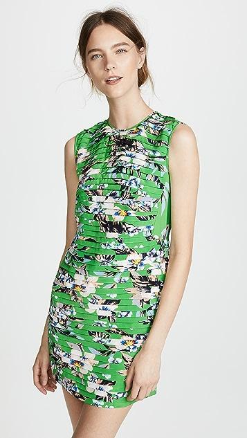 Diane von Furstenberg Cinched Waist Mini Dress