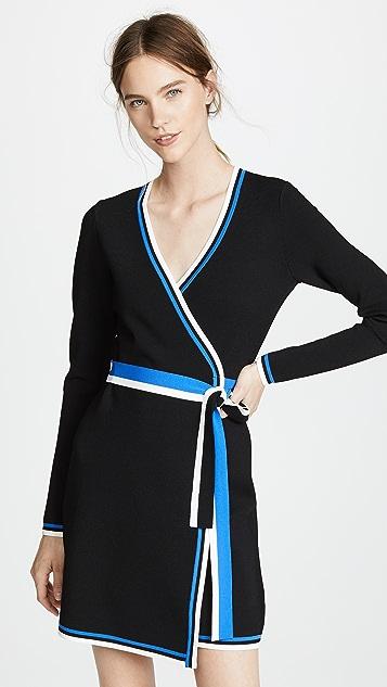 8a11736fe7e Diane von Furstenberg Wrap Sweater Dress ...