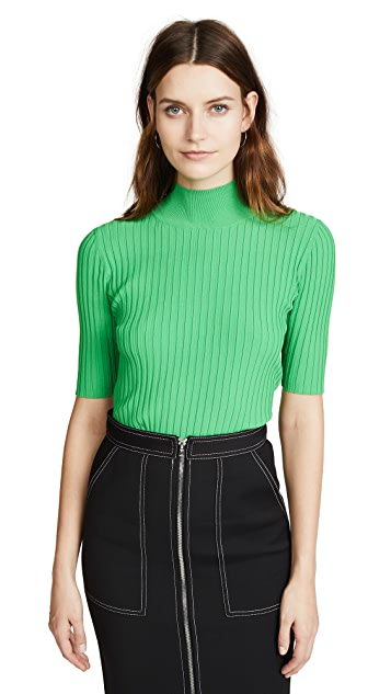 Diane von Furstenberg Gauge Mock Neck Sweater
