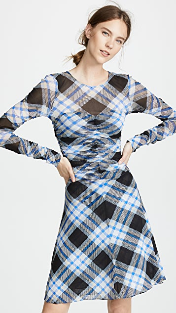 Diane von Furstenberg Mesh Dress