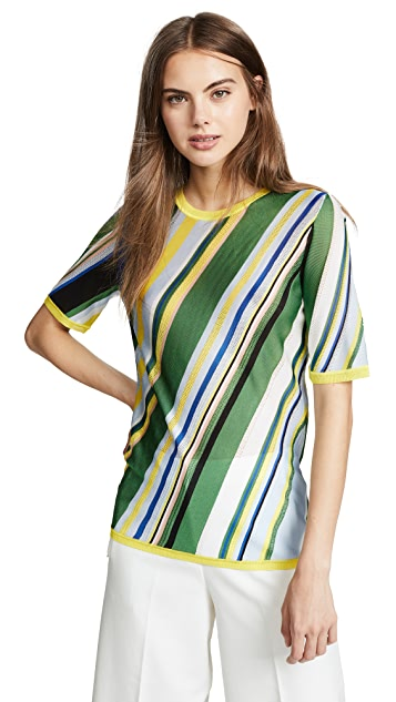 Diane von Furstenberg Striped Top
