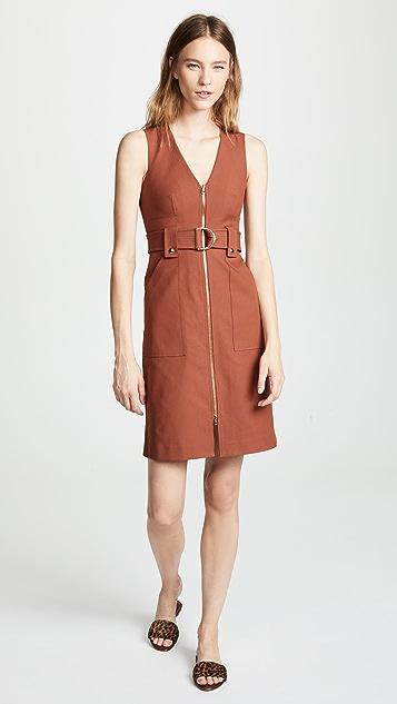 Diane von Furstenberg A Line Zip Front Dress