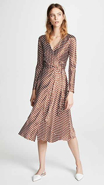 Diane von Furstenberg Woven Wrap Dress