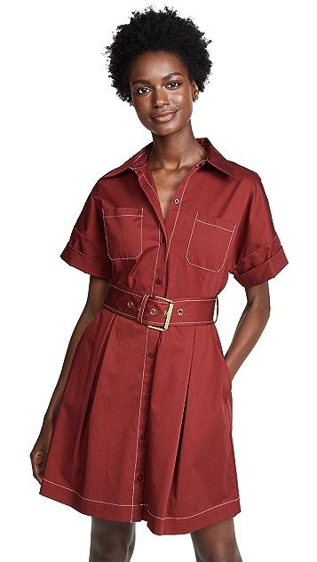 Diane von Furstenberg Belted Shirt Dress