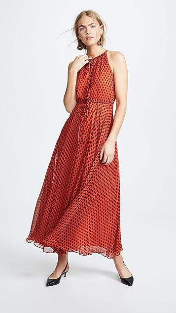 f965a88e227 Diane von Furstenberg Keyhole Maxi Dress
