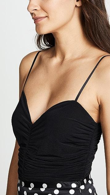 Diane von Furstenberg Ruched Bodysuit