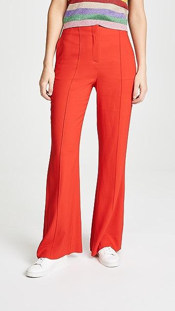 Diane von Furstenberg High Waisted Flare Pants