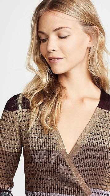 Diane von Furstenberg Wrap Sweater