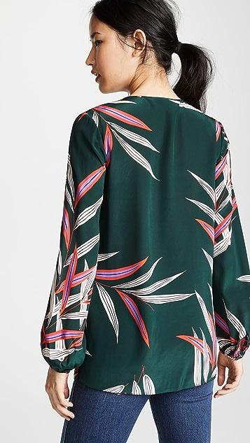 Diane von Furstenberg Блуза с каплевидным вырезом