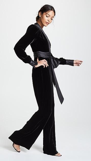 Diane von Furstenberg Sash Jumpsuit