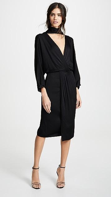 Diane von Furstenberg Front Twist Wrap Dress