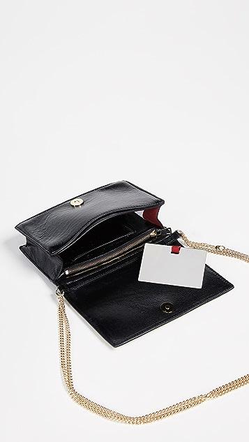 Diane von Furstenberg Soiree Haircalf Cross Body Bag