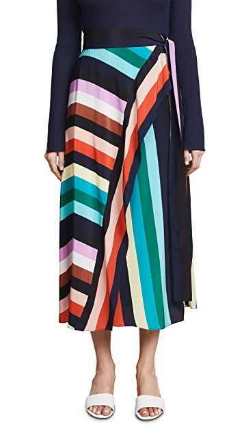 Diane von Furstenberg Draped Skirt