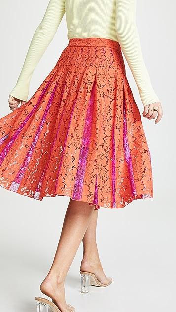Diane von Furstenberg Кружевная юбка DVF Gardenia